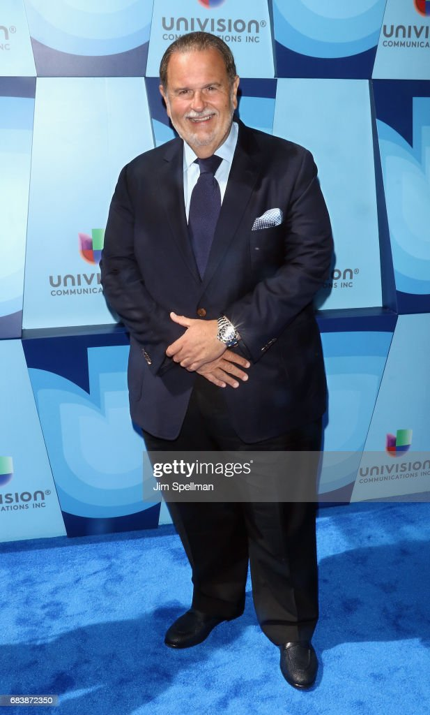TV host Raul De Molina attends Univision's 2017 Upfront at the Lyric Theatre on May 16, 2017 in New York City.