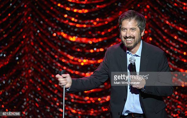 Host Ray Romano performs onstage during the International Myeloma Foundation 10th Annual Comedy Celebration at the Wilshire Ebell Theatre on November...