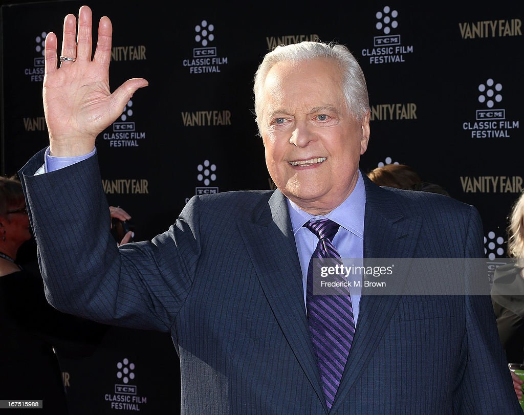 Host Robert Osborne attends the 2013 TCM Classic Film Festival Opening Night Gala screening of 'Funny Girl' at the TCL Chinese Theatre on April 25...