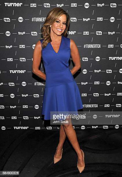 Host 'Robin Meade' of 'Morning Express' attends the TCA Turner Summer Press Tour 2016 Presentation at The Beverly Hilton Hotel on July 31 2016 in...
