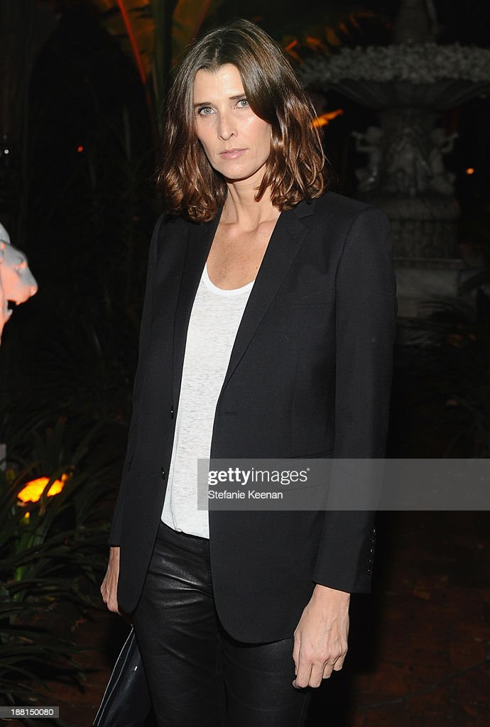 Host Rosario Saxe-Coburg attends Museo Jumex Opening welcome dinner at Casa De La Bola on November 15, 2013 in Mexico City, Mexico.