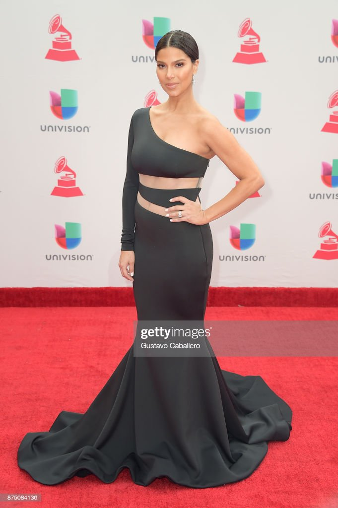 Host Roselyn Sanchez attends the 18th Annual Latin Grammy Awards at MGM Grand Garden Arena on November 16, 2017 in Las Vegas, Nevada.