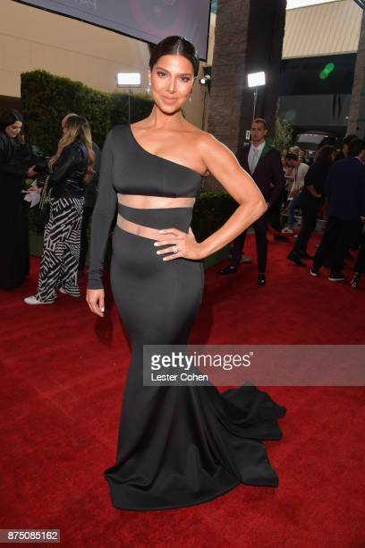 Host Roselyn Sanchez attends The 18th Annual Latin Grammy Awards at MGM Grand Garden Arena on November 16 2017 in Las Vegas Nevada