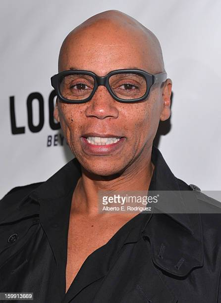 TV host RuPaul arrives to the premiere of 'RuPaul's Drag Race' Season 5 at The Abbey on January 22 2013 in West Hollywood California