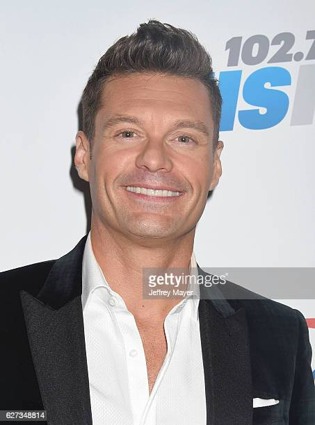 Host Ryan Seacrest attends 1027 KIIS FM's Jingle Ball 2016 at Staples Center on December 2 2016 in Los Angeles California