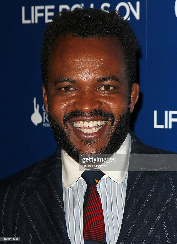 TV host <a gi-track='captionPersonalityLinkClicked' href=/galleries/search?phrase=Sal+Masekela&family=editorial&specificpeople=572654 ng-click='$event.stopPropagation()'>Sal Masekela</a> attends The Life Rolls On Foundation's 9th Annual Night by the Ocean at the Ritz-Carlton Hotel on November 10, 2012 in Marina del Rey, California.