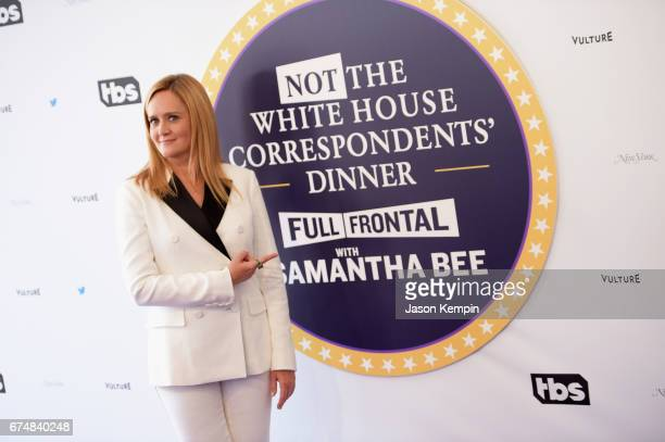 Host Samantha Bee attends Full Frontal With Samantha Bee's Not The White House Correspondents' Dinner at DAR Constitution Hall on April 29 2017 in...