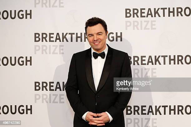 Host Seth MacFarlane attends the 2016 Breakthrough Prize Ceremony on November 8 2015 in Mountain View California