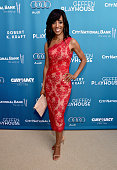 TV host Shaun Robinson attends The Geffen Playhouse's 'Backstage at the Geffen' Gala at The Geffen Playhouse on March 22 2015 in Los Angeles...