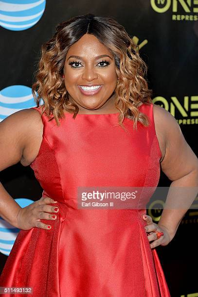 Host Sherri Shepherd attends the 2016 Stellar Gospel Awards at the Orleans Arena on February 20 2016 in Las Vegas Nevada