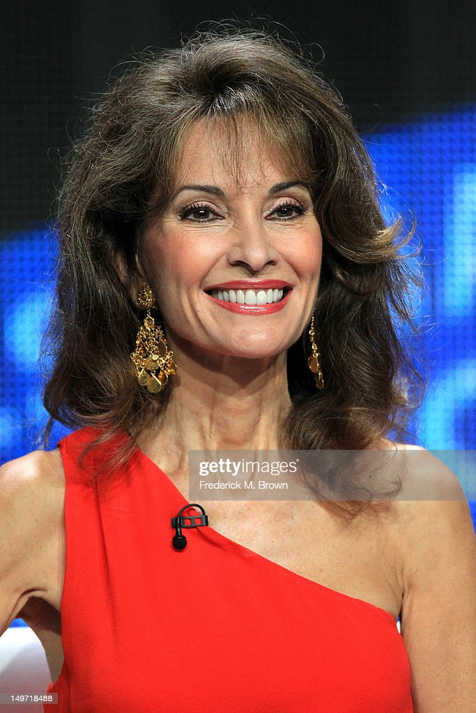 Host Susan Lucci speaks at the 'Deadly Affairs' discussion panel during the Discovery Networks/Investigation Discovery portion of the 2012 Summer Television Critics Association tour at the Beverly Hilton Hotel on August 2, 2012 in Los Angeles, California.
