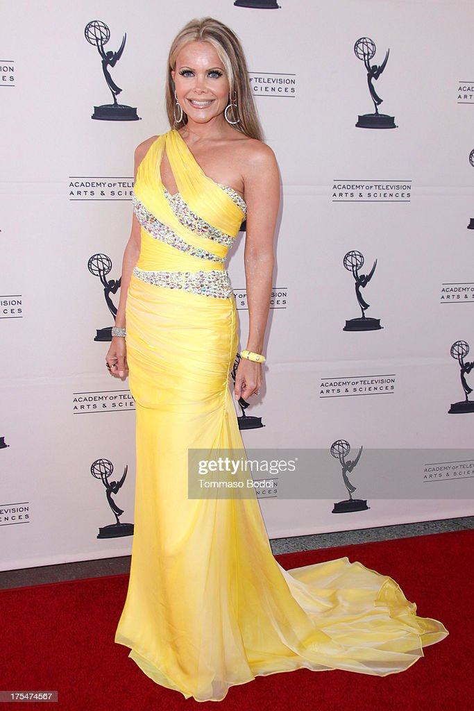 Host Tamara Henry attends the Academy Of Television Arts & Sciences 65th Los Angeles Area EMMY Awards held at the Leonard H. Goldenson Theatre on August 3, 2013 in North Hollywood, California.