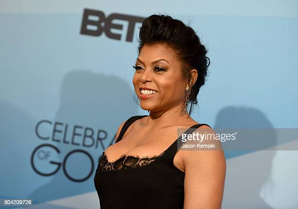 Host Taraji P Henson attends BET Celebration Of Gospel 2016 at Orpheum Theatre on January 9 2016 in Los Angeles California