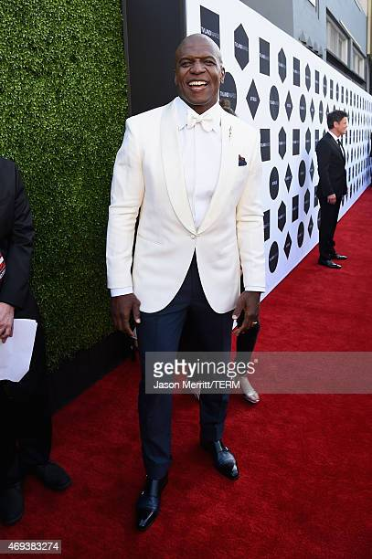 Host Terry Crews attends the 2015 TV Land Awards at Saban Theatre on April 11 2015 in Beverly Hills California