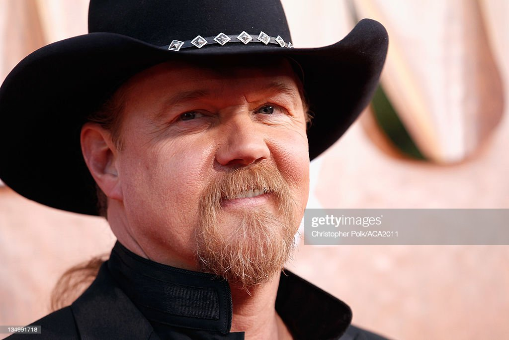 Host <a gi-track='captionPersonalityLinkClicked' href=/galleries/search?phrase=Trace+Adkins&family=editorial&specificpeople=224686 ng-click='$event.stopPropagation()'>Trace Adkins</a> arrives at the American Country Awards 2011 at the MGM Grand Garden Arena on December 5, 2011 in Las Vegas, Nevada.