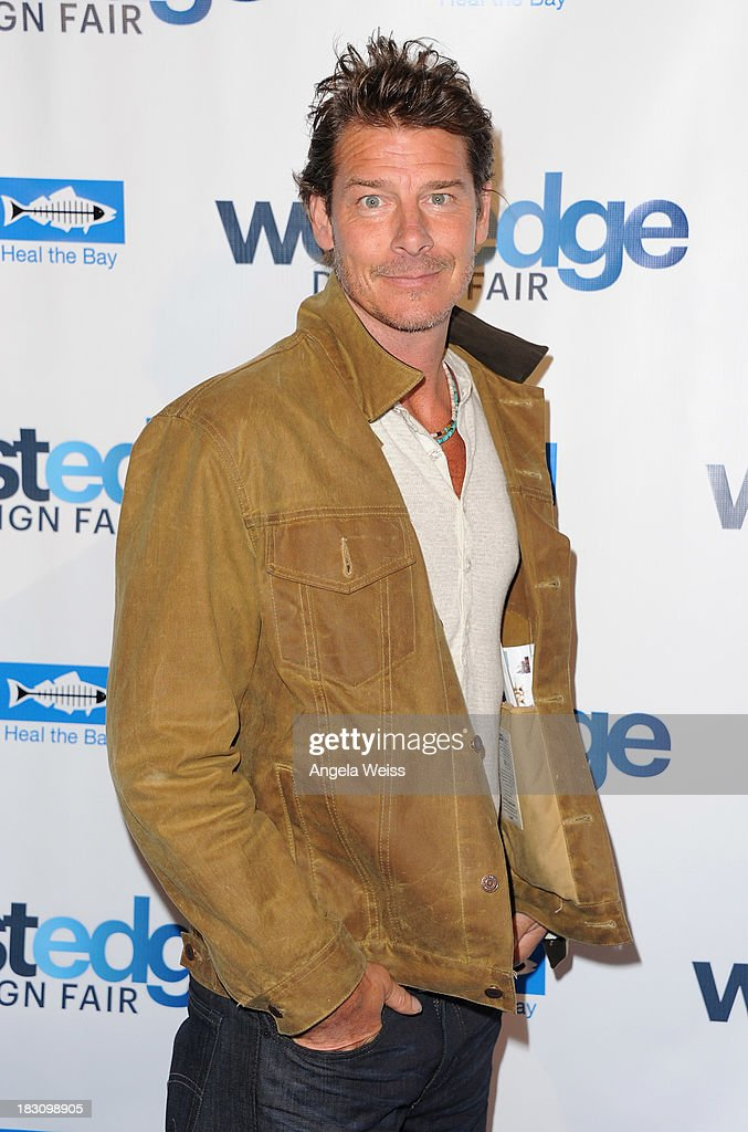 TV host Ty Pennington attends the WestEdge Design Fair opening night benefiting Heal the Bay at Barker Hangar on October 3, 2013 in Santa Monica, California.