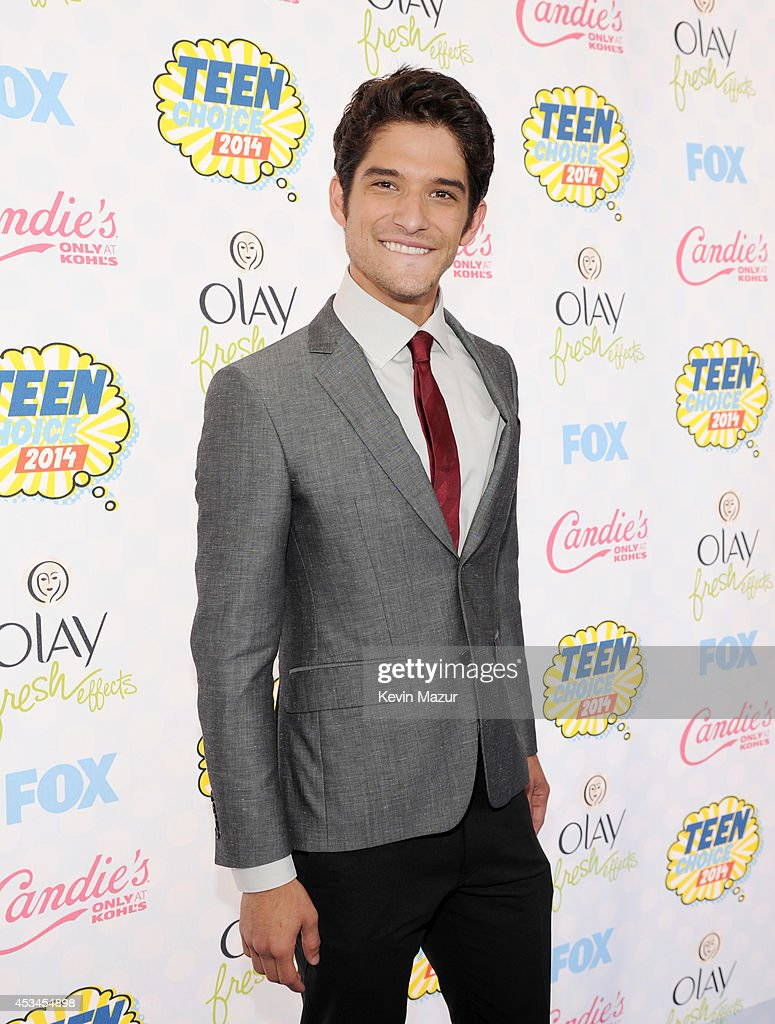 Host Tyler Posey attends FOX's 2014 Teen Choice Awards at The Shrine Auditorium on August 10 2014 in Los Angeles California