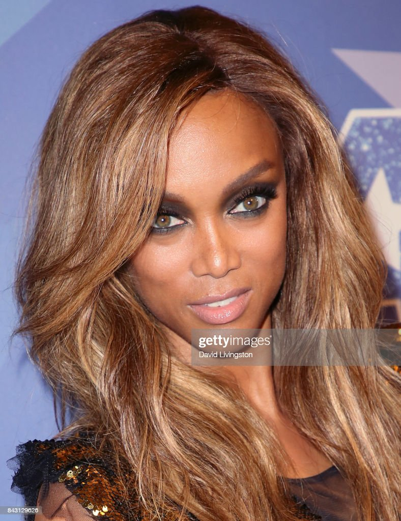 Host Tyra Banks attends NBC's 'America's Got Talent' Season 12 live show at Dolby Theatre on September 5, 2017 in Hollywood, California.