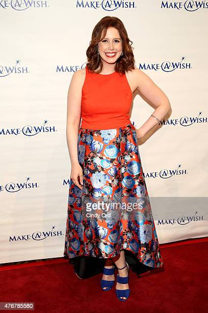 Host Vanessa Bayer attends An Evening Of Wishes Annual Gala Benefiting MakeAWish Metro New York on June 11 2015 in New York City