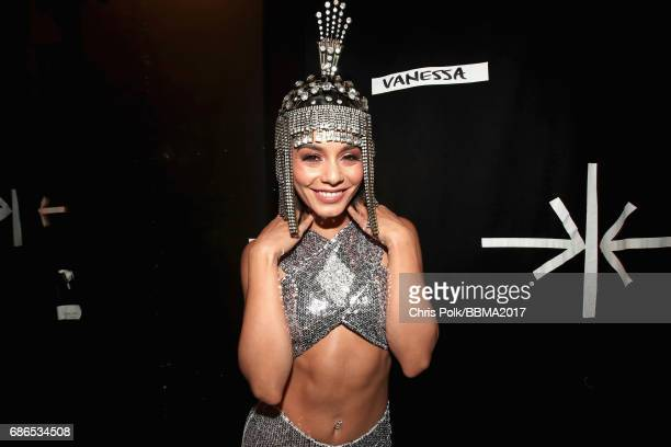 Host Vanessa Hudgens attends the 2017 Billboard Music Awards at TMobile Arena on May 21 2017 in Las Vegas Nevada