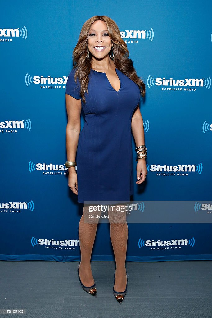 TV host Wendy Williams visits the SiriusXM Studios on March 13, 2014 in New York City.