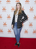 Host Whitney Cummings attends 'The Champions' documentary presented by Best Friends Animal Society on March 1 2016 in West Hollywood California