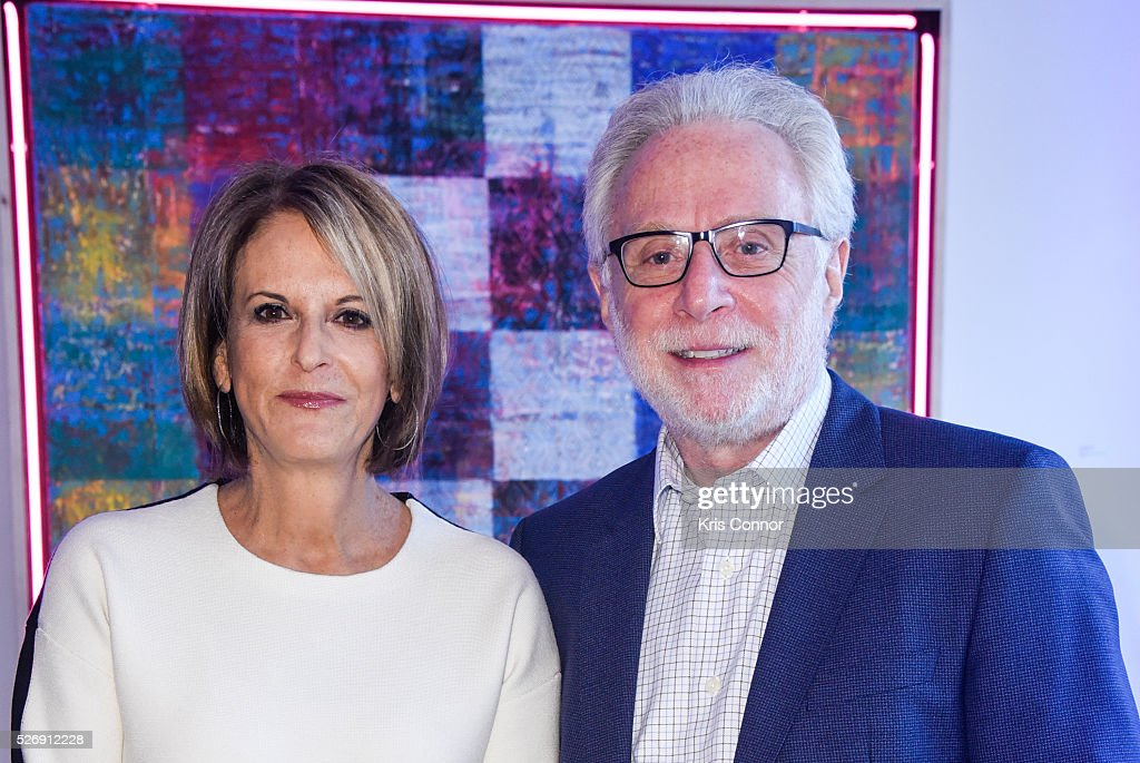 CNN host <a gi-track='captionPersonalityLinkClicked' href=/galleries/search?phrase=Wolf+Blitzer&family=editorial&specificpeople=221464 ng-click='$event.stopPropagation()'>Wolf Blitzer</a> and Lynn Greenfield pose for a photo during the 2016 CNN Correspondents' Brunch at the Longview gallery in Washington, DC on May 1, 2016.