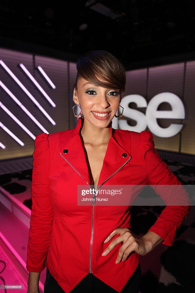 Host Yasmine Richard visits fuse Studios on November 5, 2012 in New York City.