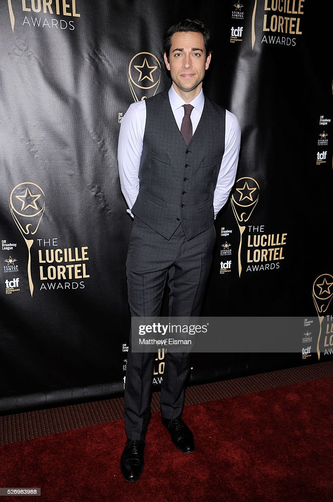 Host Zachary Levi arrives at the 31st Annual Lucille Lortel Awards at NYU Skirball Center on May 1, 2016 in New York City.