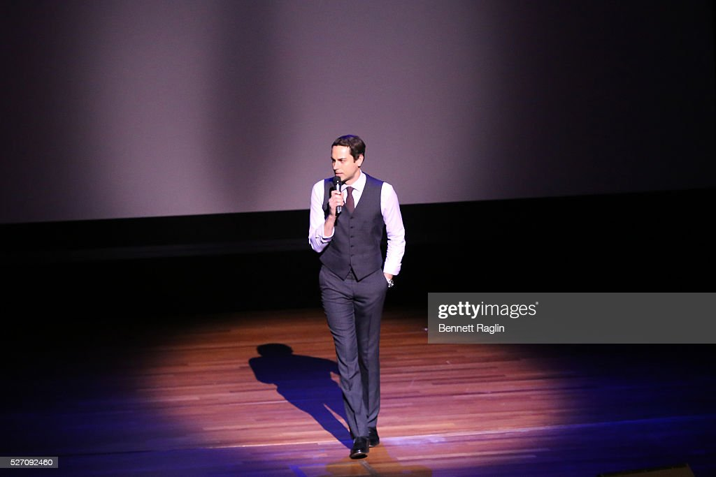 Host <a gi-track='captionPersonalityLinkClicked' href=/galleries/search?phrase=Zachary+Levi&family=editorial&specificpeople=242766 ng-click='$event.stopPropagation()'>Zachary Levi</a> speaks onstage during the 31st Annual Lucille Lortel Awards at NYU Skirball Center on May 1, 2016 in New York City.