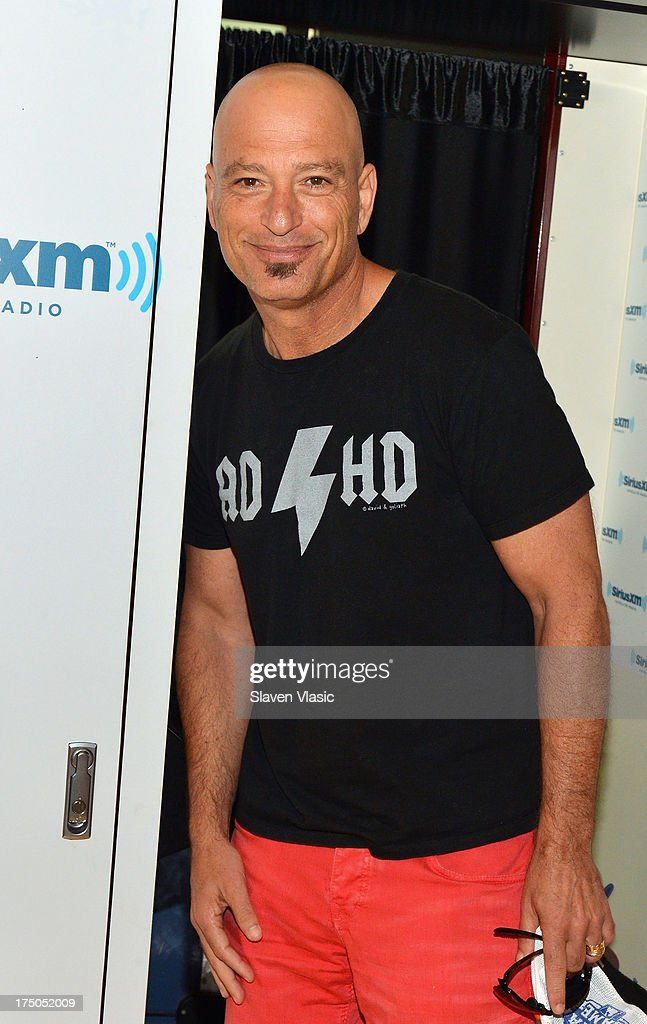 TV host/actor <a gi-track='captionPersonalityLinkClicked' href=/galleries/search?phrase=Howie+Mandel&family=editorial&specificpeople=595760 ng-click='$event.stopPropagation()'>Howie Mandel</a> visits SiriusXM Studios on July 30, 2013 in New York City.