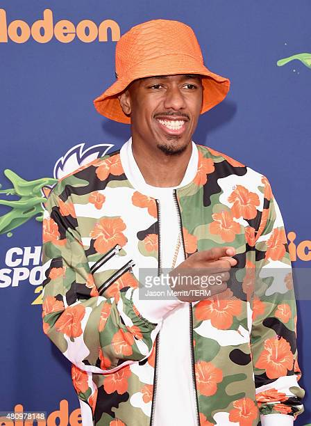 TV host/actor Nick Cannon attends the Nickelodeon Kids' Choice Sports Awards 2015 at UCLA's Pauley Pavilion on July 16 2015 in Westwood California