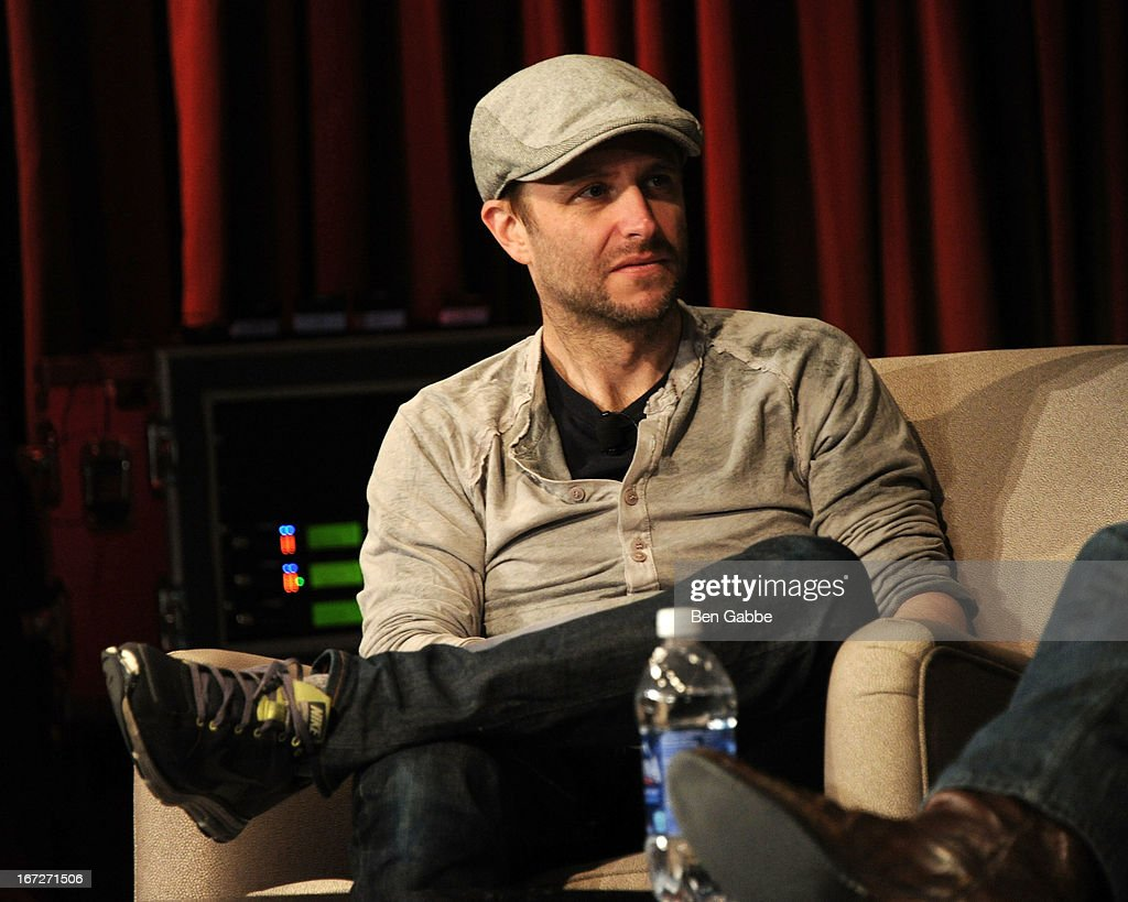 Host/actor/comedian <a gi-track='captionPersonalityLinkClicked' href=/galleries/search?phrase=Chris+Hardwick&family=editorial&specificpeople=960855 ng-click='$event.stopPropagation()'>Chris Hardwick</a> speaks during the Future Of Film: A Conversation With Nerdist during the 2013 Tribeca Film Festival on April 23, 2013 in New York City.