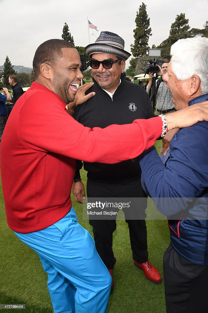 Host/comedian George Lopez actor Anthony Anderson and golfer Lee Trevino attended the 8th Annual George Lopez Celebrity Golf Classic presented by...