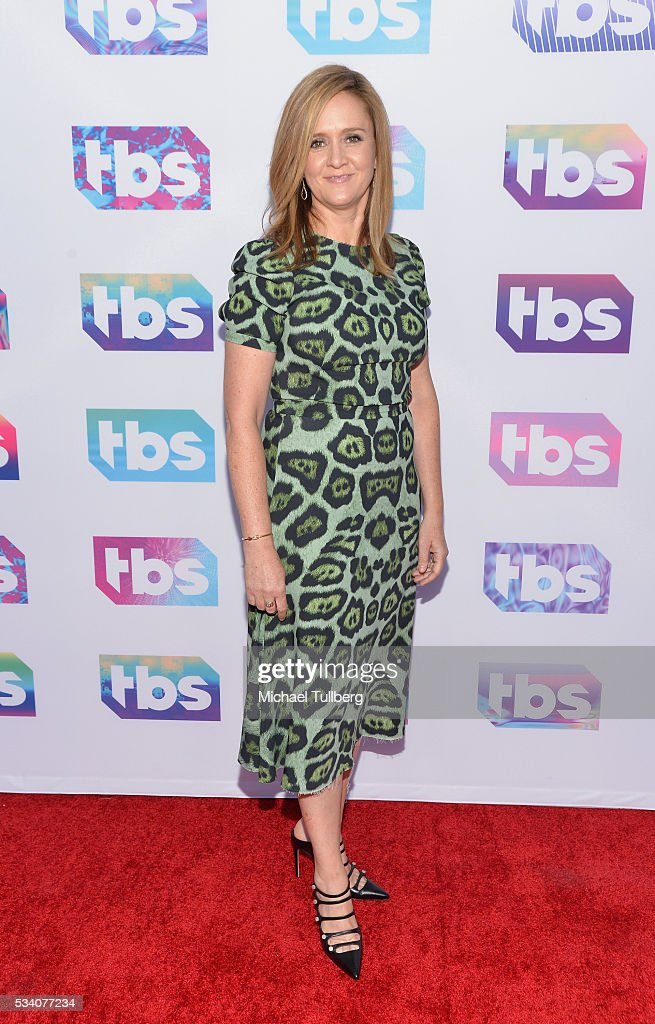 TV host/comedian <a gi-track='captionPersonalityLinkClicked' href=/galleries/search?phrase=Samantha+Bee&family=editorial&specificpeople=2244874 ng-click='$event.stopPropagation()'>Samantha Bee</a> attends TBS's A Night Out With - For Your Consideration event at The Theatre at Ace Hotel on May 24, 2016 in Los Angeles, California.