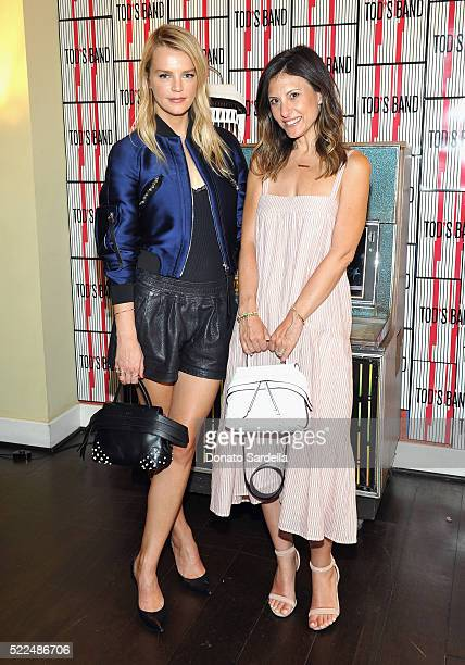 Host/copresident Baby2Baby Kelly Sawyer Patricof and copresident Baby2Baby Norah Weinstein attend Baby2Baby Luncheon hosted by Kelly Sawyer TOD'S at...