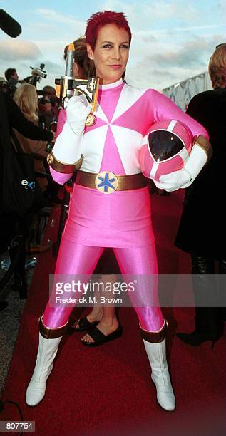 Hostess for the Seventh Annual Dream Halloween to Benefit Children Affected by AIDS foundation actress Jamie Lee Curtis arrives to the event October...