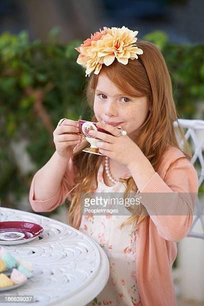 Hostess of the tea party