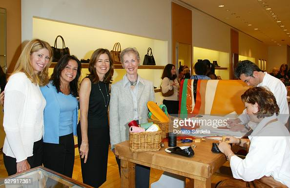 Hostesses Judy Billings Camelia Cath Erin Stein and Diane Cooke