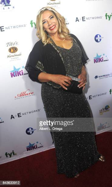 Host/Executive Producer Kiki Melendez arrives for the Premiere Of Latin Hollywood Films And FYI Network's 'Kiki Mobile' held at Viva Hollywood on...