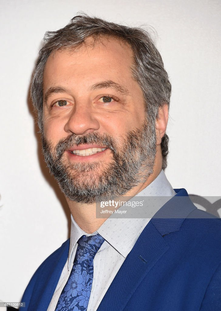Host/producer/writer/director Judd Apatow arrives at the Variety's Power Of Women: Los Angeles at the Beverly Wilshire Four Seasons Hotel on October 13, 2017 in Beverly Hills, California.