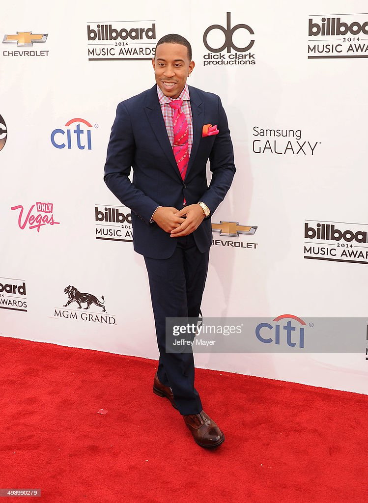 Host/rapper/actor Chris 'Ludacris' Bridges arrives at the 2014 Billboard Music Awards at the MGM Grand Garden Arena on May 18, 2014 in Las Vegas, Nevada.