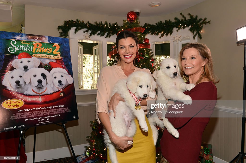 Hosts <a gi-track='captionPersonalityLinkClicked' href=/galleries/search?phrase=Ali+Landry&family=editorial&specificpeople=543155 ng-click='$event.stopPropagation()'>Ali Landry</a> (L) and <a gi-track='captionPersonalityLinkClicked' href=/galleries/search?phrase=Cheryl+Ladd&family=editorial&specificpeople=208771 ng-click='$event.stopPropagation()'>Cheryl Ladd</a> attend the 'Santa Paws 2: The Santa Pups' holiday party hosted by Disney, <a gi-track='captionPersonalityLinkClicked' href=/galleries/search?phrase=Cheryl+Ladd&family=editorial&specificpeople=208771 ng-click='$event.stopPropagation()'>Cheryl Ladd</a>, and <a gi-track='captionPersonalityLinkClicked' href=/galleries/search?phrase=Ali+Landry&family=editorial&specificpeople=543155 ng-click='$event.stopPropagation()'>Ali Landry</a> at The Victorian on November 10, 2012 in Santa Monica, California.
