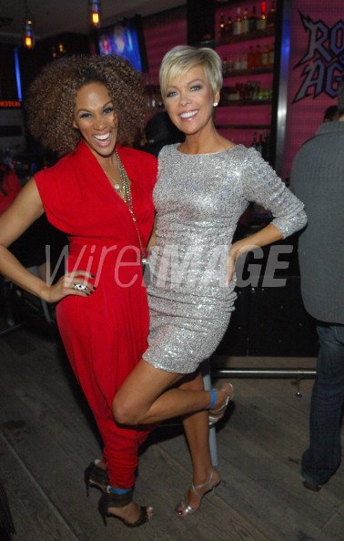 Hosts Anji Corley And Callie Northagen Appear At The Hsn Live