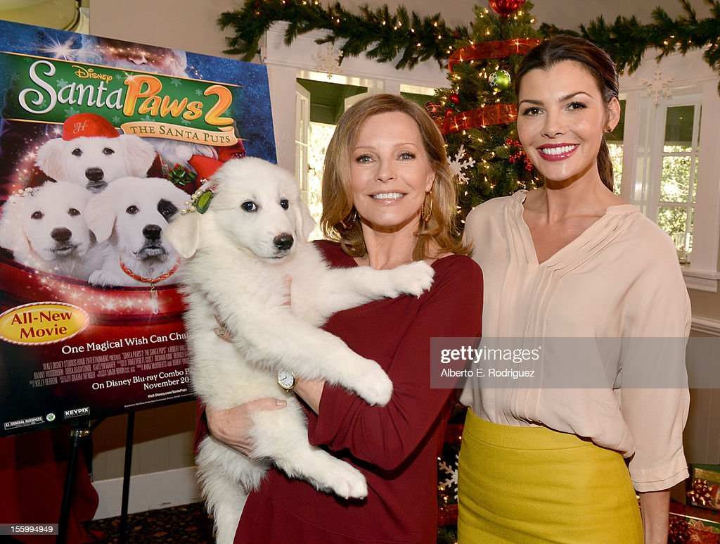 Hosts <a gi-track='captionPersonalityLinkClicked' href=/galleries/search?phrase=Cheryl+Ladd&family=editorial&specificpeople=208771 ng-click='$event.stopPropagation()'>Cheryl Ladd</a> (L) and <a gi-track='captionPersonalityLinkClicked' href=/galleries/search?phrase=Ali+Landry&family=editorial&specificpeople=543155 ng-click='$event.stopPropagation()'>Ali Landry</a> attend the 'Santa Paws 2: The Santa Pups' holiday party hosted by Disney, <a gi-track='captionPersonalityLinkClicked' href=/galleries/search?phrase=Cheryl+Ladd&family=editorial&specificpeople=208771 ng-click='$event.stopPropagation()'>Cheryl Ladd</a>, and <a gi-track='captionPersonalityLinkClicked' href=/galleries/search?phrase=Ali+Landry&family=editorial&specificpeople=543155 ng-click='$event.stopPropagation()'>Ali Landry</a> at The Victorian on November 10, 2012 in Santa Monica, California.
