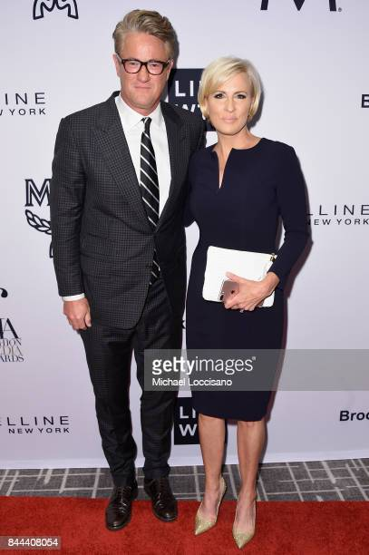 MSNBC hosts Joe Scarborough and Mika Brzezinski attend the Daily Front Row's Fashion Media Awards at Four Seasons Hotel New York Downtown on...