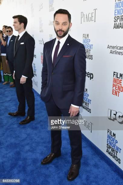 Hosts John Mulaney and Nick Kroll attend the 2017 Film Independent Spirit Awards at Santa Monica Pier on February 25 2017 in Santa Monica California