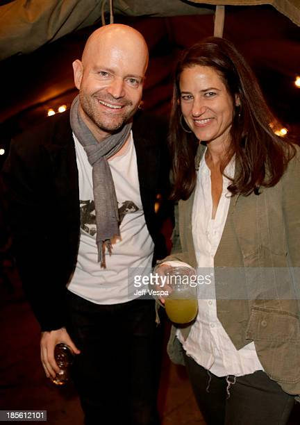 Hosts Marc Forster and Katherine Ross attend Barneys New York Marc Forster Katherine Ross' celebration of Greg Lauren's New Designer Fragrance at The...