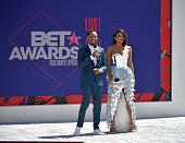 2018 BET Awards Pre-Show - Live! Red! Ready! Sponsored...