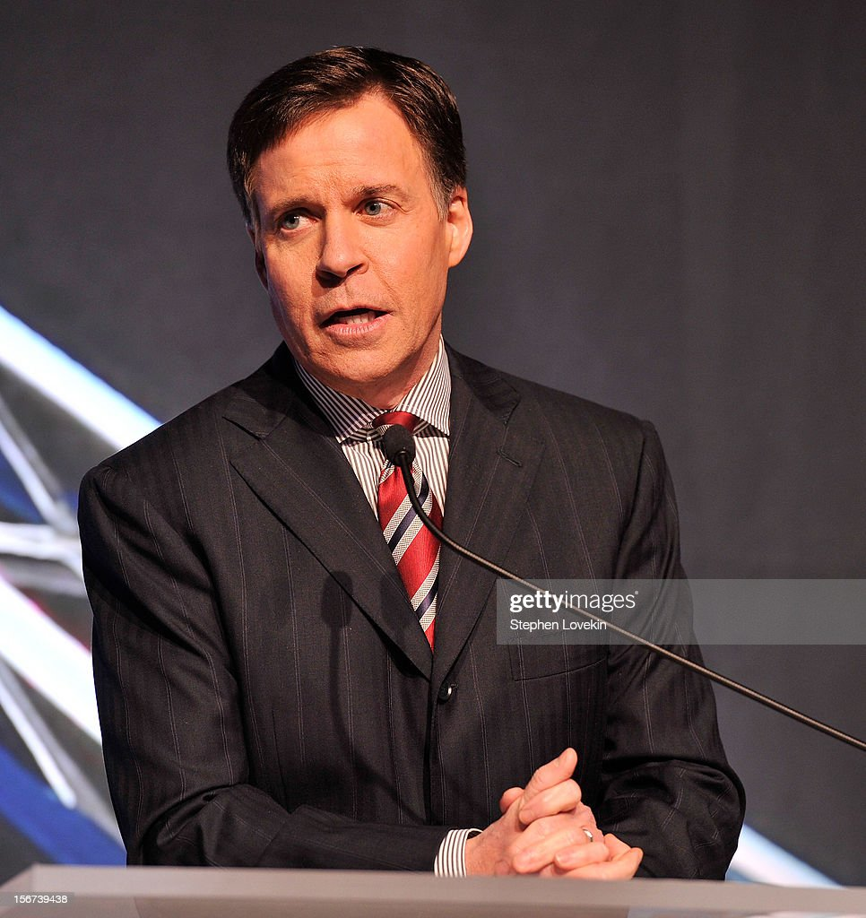 Host/TV personality Bob Costas attends the 2012 Golden Goggle awards at the Marriott Marquis Times Square on November 19, 2012 in New York City.